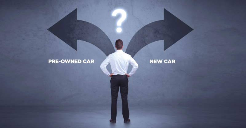 Pre-owned Car vs New Car - Which One to Pick?
