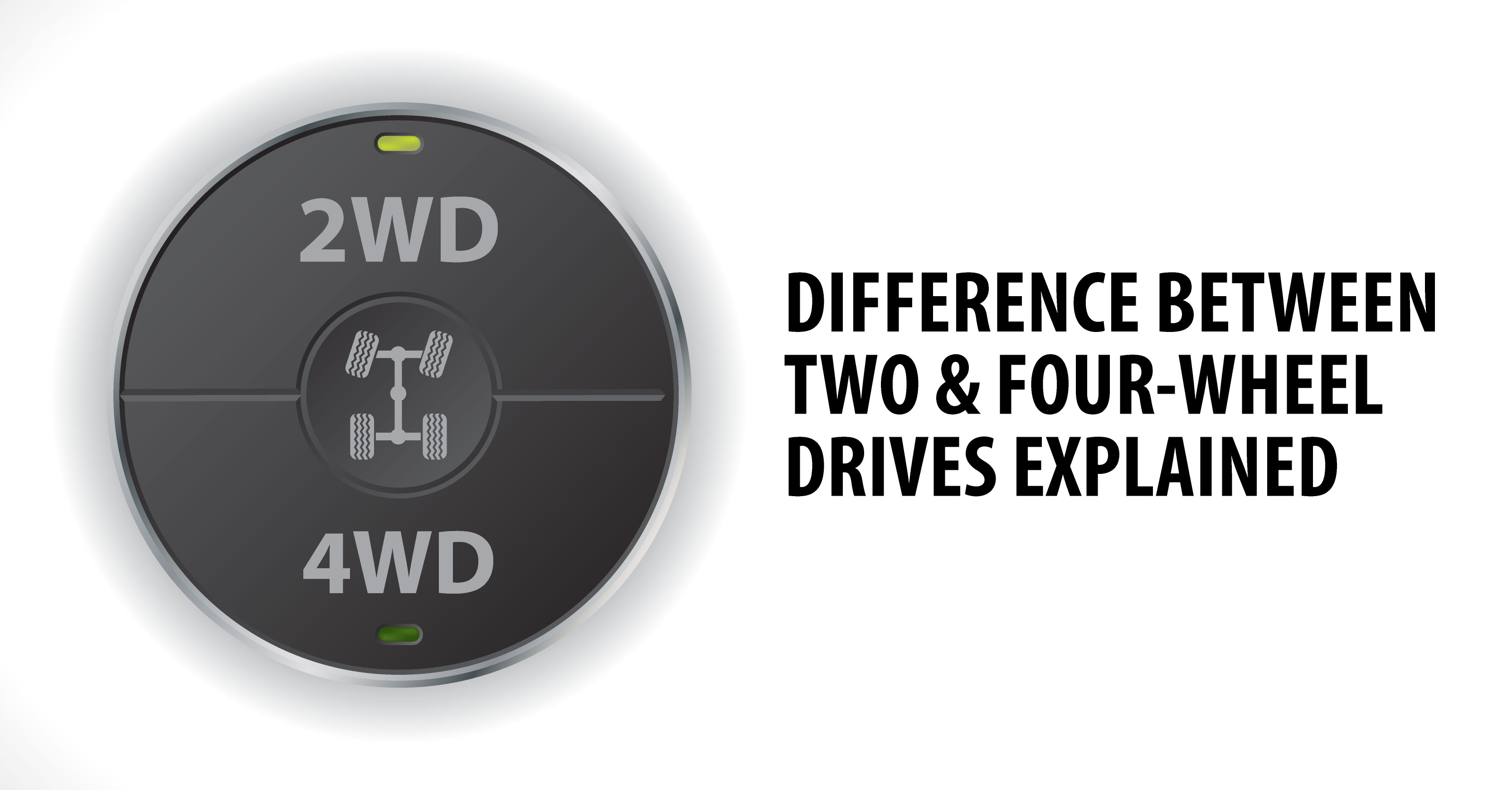 DIFFERENCE BETWEEN TWO & FOUR-WHEEL DRIVES EXPLAINED